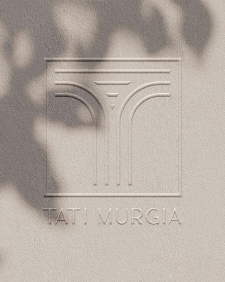 Identità visiva pro per Tati Murgia, design di Marianna Milione