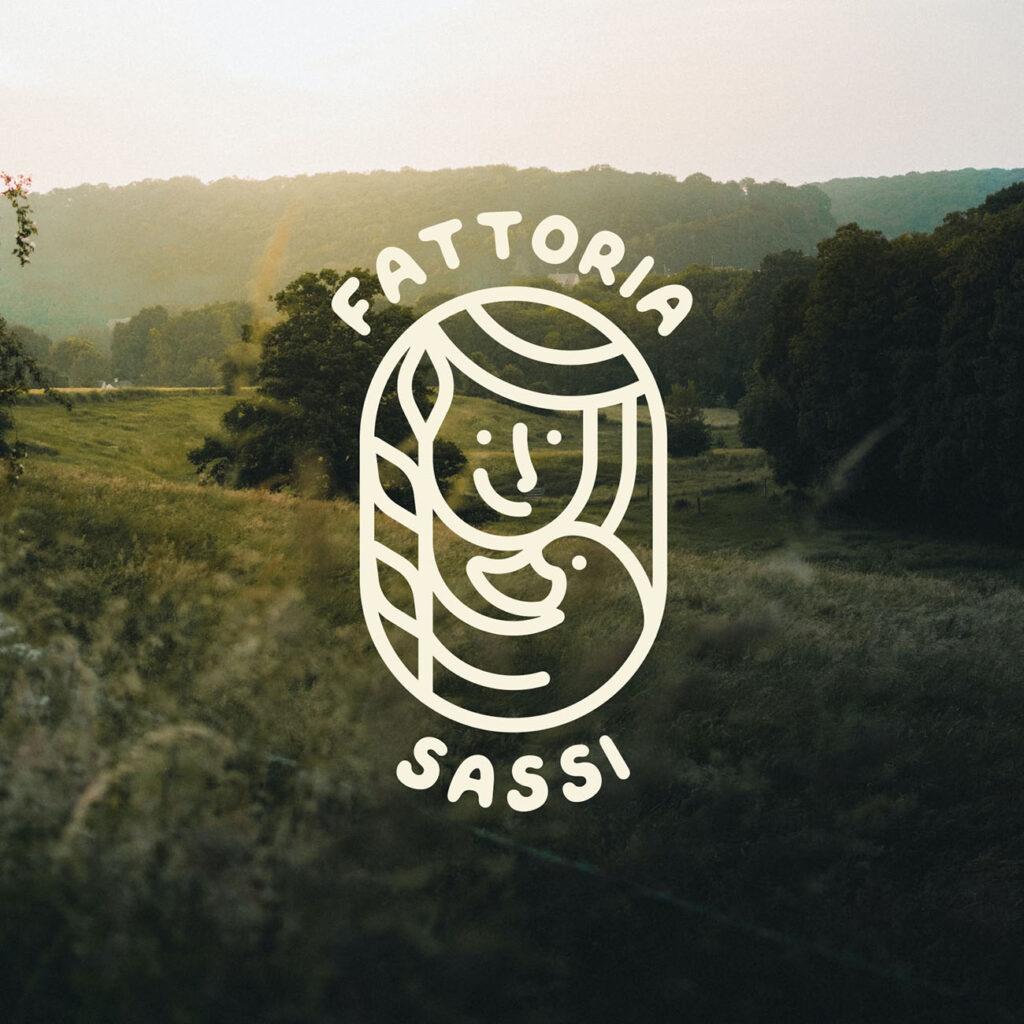 """Come ho creato un'identità visiva con la community di Instagram. Il logo per """"Fattoria Sassi"""""""