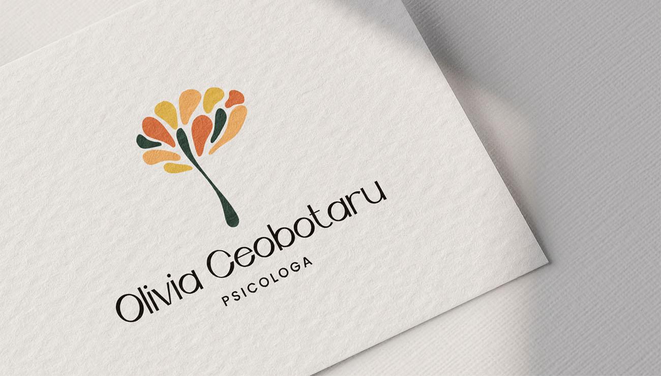 Logo principale per Olivia Ceobotaru, grafica di Marianna Milione
