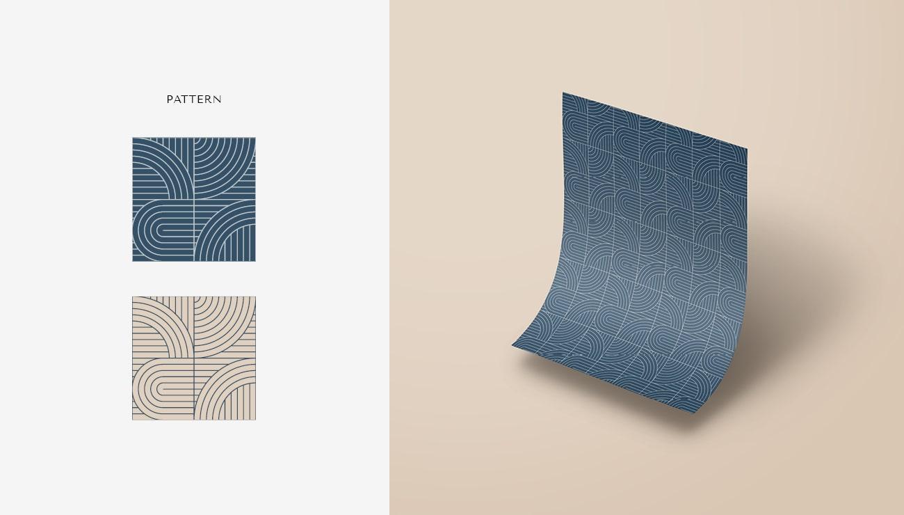 Pattern per Tati Murgia, grafica di Marianna Milione